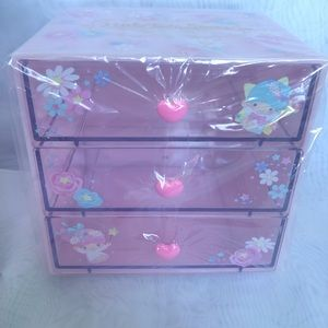 Little Twin Stars 3 drawers storage